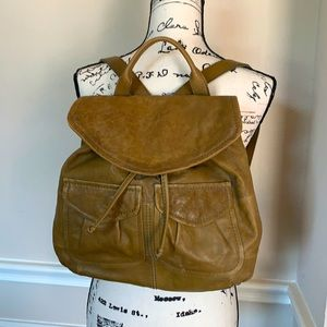 NWOT 💚 Authentic Fossil Backpack - Sample Piece